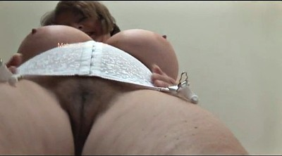 Huge, Huge boobs, Hairy granny pussy
