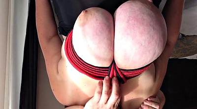 Big tits, Huge tits, Tied, Big breast, Breast bondage