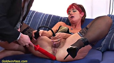 Big clit, Clit, Pump, Mom anale, Mature clit, Extreme anal