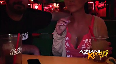 Tits, Bar, Public fingering, Sexy body, Public flash, Public finger