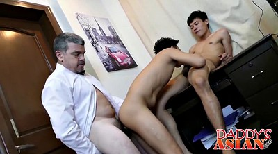 Old gay, Old dad, Horny, Asian daddy