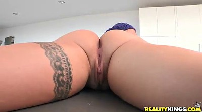 Anal interracial, Small tits blond