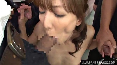Asian blowjob, Hairy milf