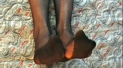 High heels, Stockings heels, Stocking foot