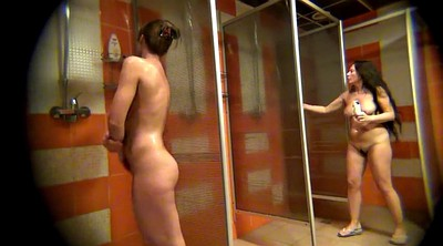 Spy, Spying, Naked, Hidden shower