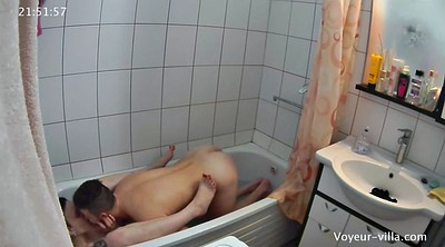 Teen voyeur, Shower voyeur, Shower hidden, Hidden shower