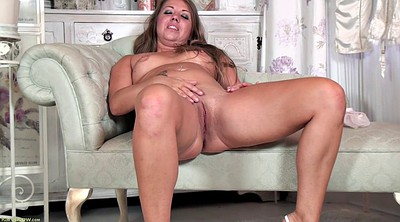 Horny mature, Solo mature, Mature masturbation, Chubby lingerie, Big woman