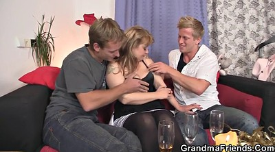 Granny threesome, Wife threesome, Threesome wife