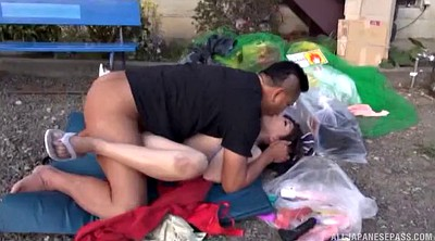 Japanese outdoor, Japanese woman, Asian man, Japanese nasty