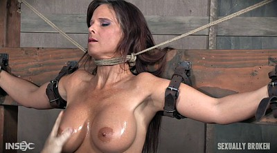 Oil, Tied up, Tied blowjob