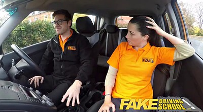 Facial, English, Fake driving school