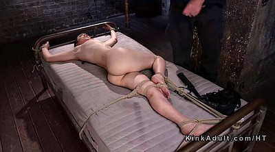 Hogtied, Caning