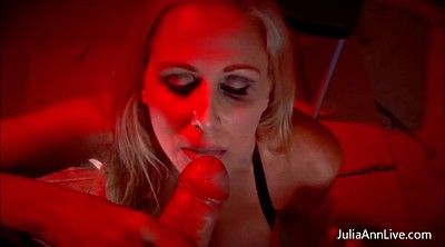 Julia ann, Julia, Throated