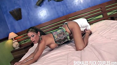 Bride, Shemale and girl, Big cock shemale