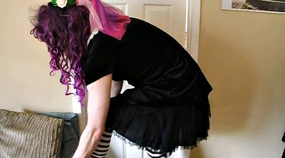 Goth, Crossdress, Crossdressers, Cds