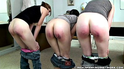 Three, School girl, Spank girl, School spank, Teen school, School teen