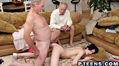 Granny, Granny anal, Young guy, Granny asshole, Old guy