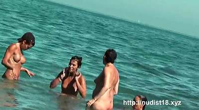 Nudist, Movie, Sexy ass, Public beach, Nude beach