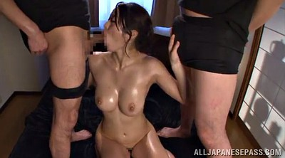 Doggy creampie, Asian double penetration, Asian double