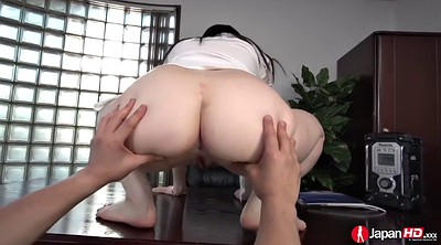 Japanese, Creampie, Japanese office, Hairy ass, Ass licking