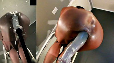 Huge ass, Pussy gaping, Huge toy