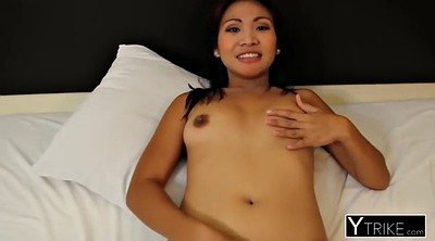 Smile, Asian girlfriend