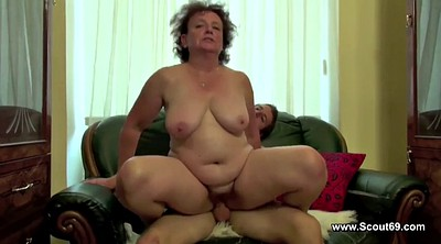 Old and young, Mom boy, Mom and boy, Bbw german, Mom bbw, Granny boy