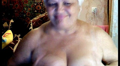 Russian granny, Naked, Russian mature