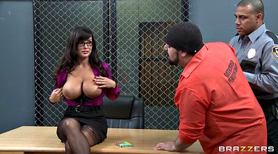 Lisa ann, Interracial, Prison