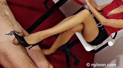 Stocking babe, Pantyhose footjob, Pantyhose feet, Stockings footjob