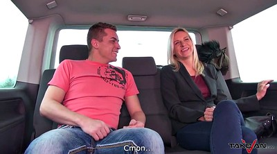 Hot mom, Czech taxi, Accident