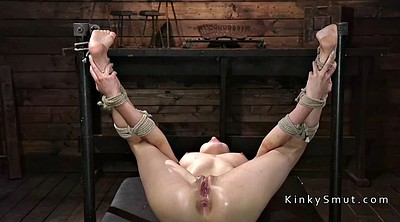 Squirting, Hogtied