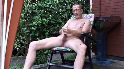 Granny gay, Jerk off, Old cock, Young old, Solo granny, Garden