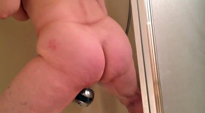 Shower, Spy, Mature orgasm