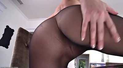 Pantyhose fetish, Striptease