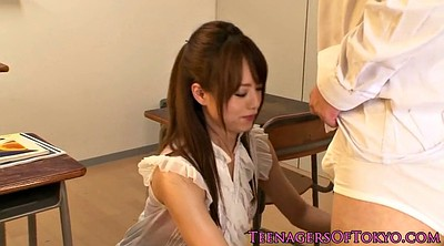 Japanese teen, Queen, Japanese face sitting, Classroom
