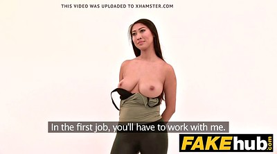 Asian big boobs, Fake tits, Casting asian, Asian boobs