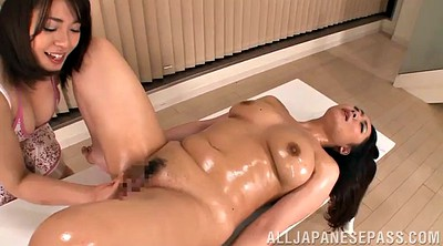Asian lesbian massage, Chubby asian
