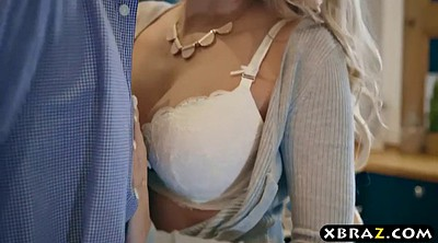 Busty, Mother in law, Kitchen, In law