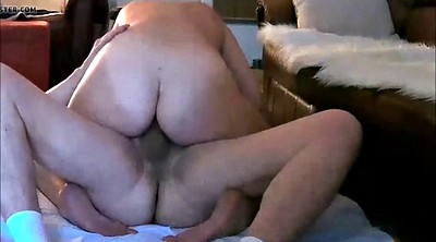 Riding cock, Hidden fuck, Bbw wife