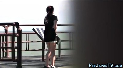 Japanese outdoor, Japanese voyeur, Japanese public, Outdoor peeing