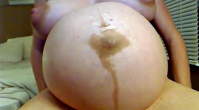Preggo, Belly, Pregnant bbw, Show, Pregnant solo, Big belly