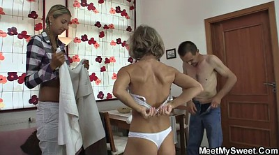 Mom, Moms, Group granny, Threesome girlfriend, Teen foursome, Mom group