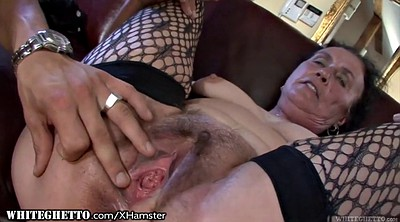 Hairy anal, Anal grannies