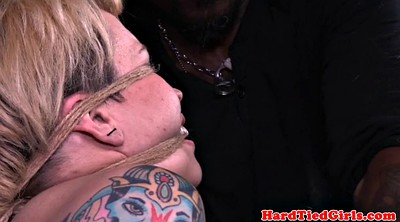 Interracial bdsm, Caning, Rope
