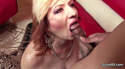 First time, Porn, German granny, German milf