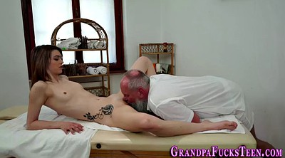 Oil massage, Granny massage