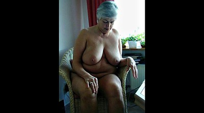 Granny, Jerk off, Milf masturbation