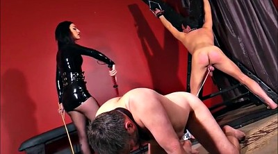Cbt, Caning, Mistress slave, Whipped, Femdom cbt, Caned