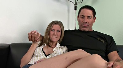 Big tits masturbation, Wife interracial, Husband watch